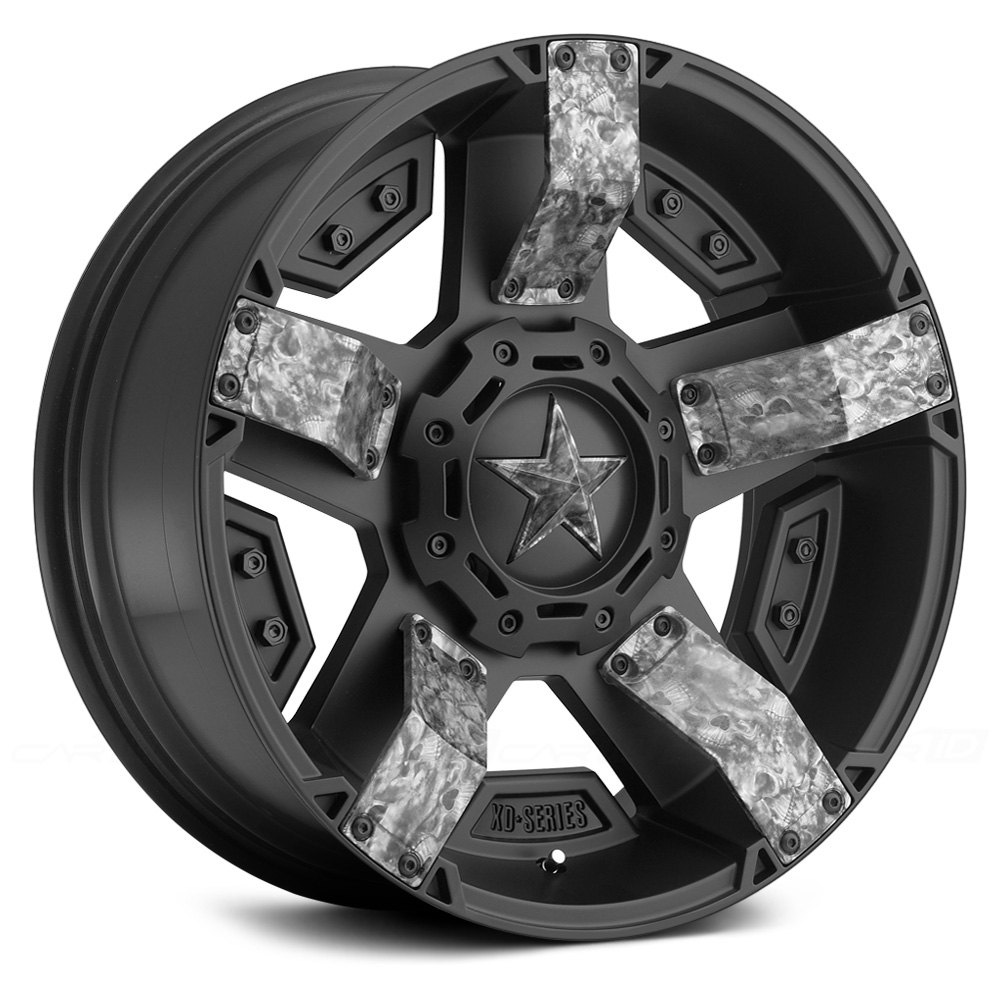 XD SERIES® XD129 HOLESHOT Wheels - Satin Black Rims