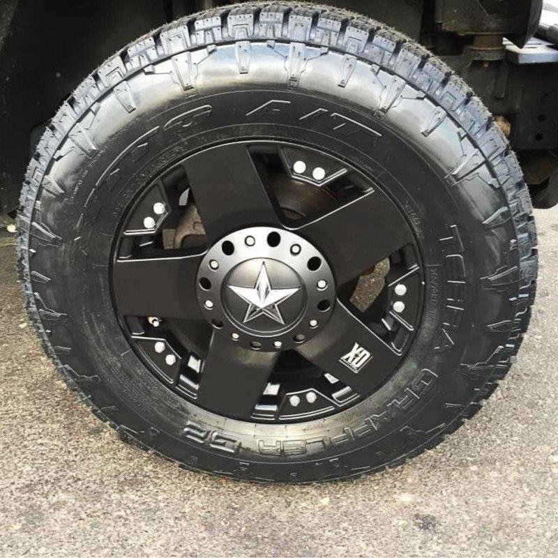 Ford F150 Rims >> XD SERIES® XD775 ROCKSTAR Wheels - Matte Black Rims