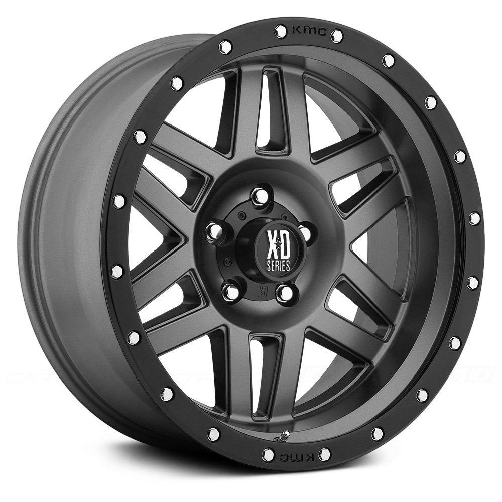 xd series u00ae xd128 machete wheels matte gray with black