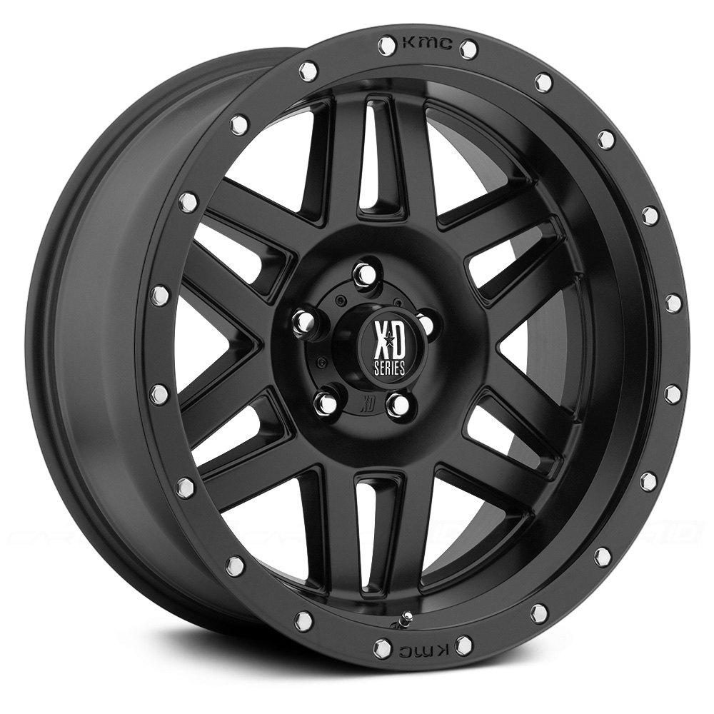 Xd Series 174 Xd128 Wheels Satin Black Rims Xd12879055718 N