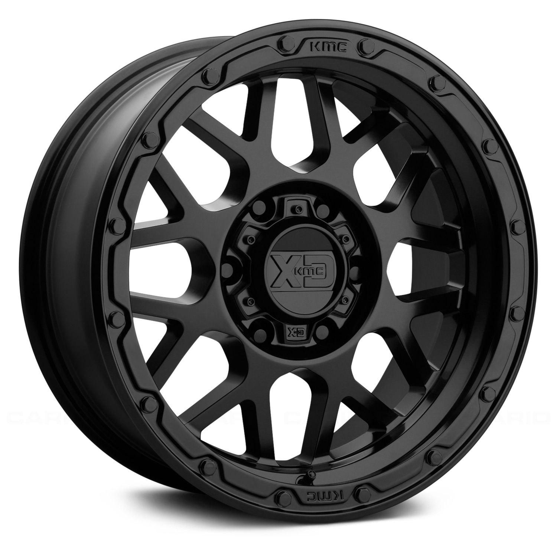 Xd Series 174 Xd135 Wheels Matte Black Rims
