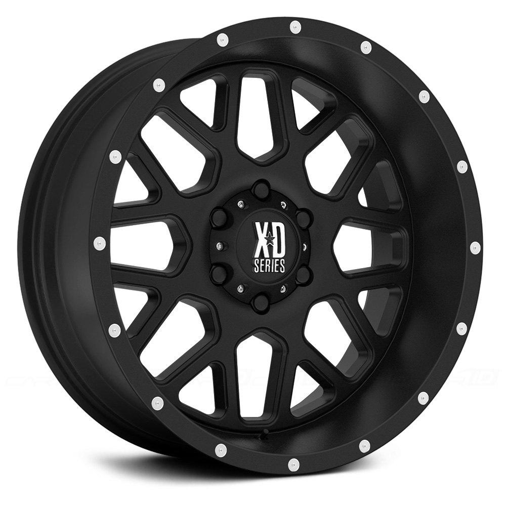 Xd Series 174 Xd820 Wheels Satin Black Rims Xd82079050712n J