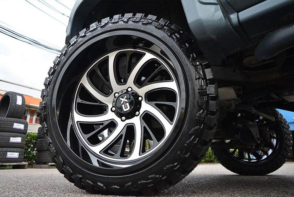 Gmc Sierra Wheels >> XD SERIES® XD826 SURGE Wheels - Gloss Black with Machined Face Rims