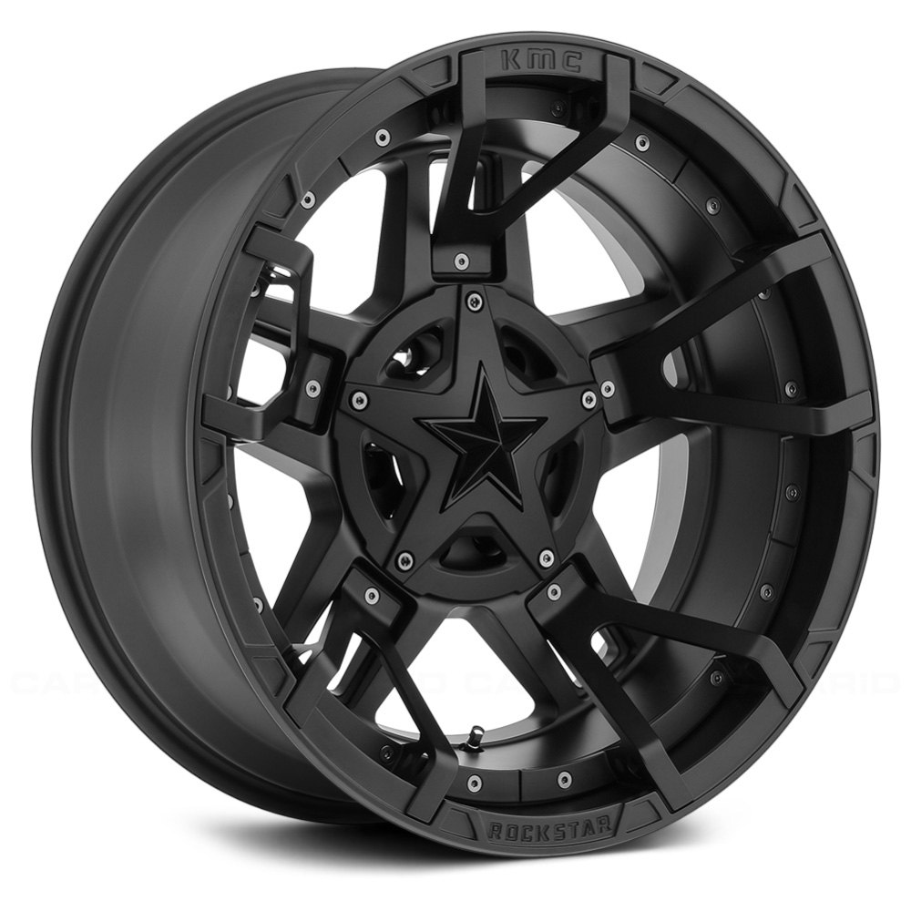 All Chevy black chevy rims : XD SERIES® XD827 ROCKSTAR 3 Wheels - Matte Black with Black ...