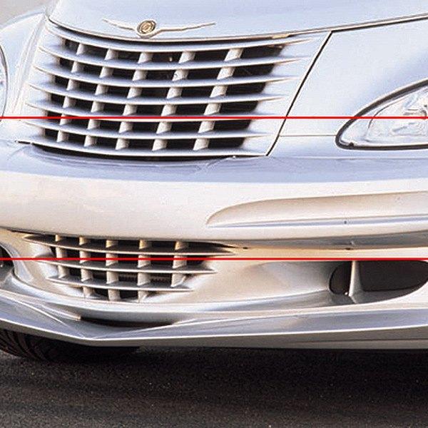 Pt Cruiser Bumpers : Chrysler pt cruiser front bumper cover urethane