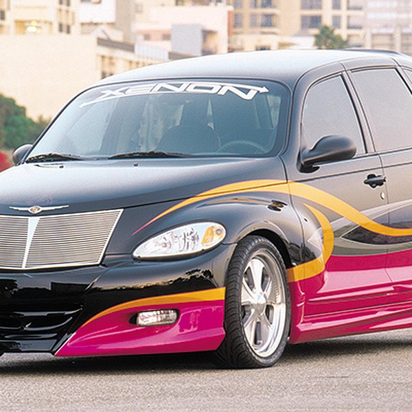01 05 Chrysler PT Cruiser Body Kit Urethane Custom 4 Pcs