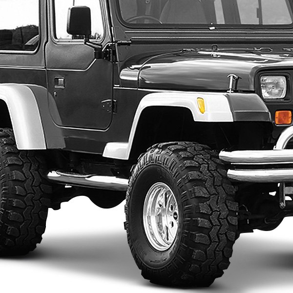 xenon jeep wrangler 1987 1996 wide style fender flares kit. Cars Review. Best American Auto & Cars Review