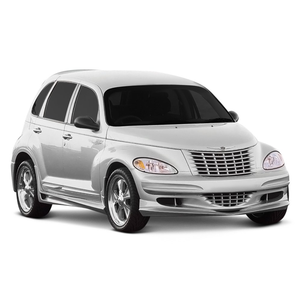 chrysler pt cruiser 2001 2005 xenon 10041 front bumper. Black Bedroom Furniture Sets. Home Design Ideas