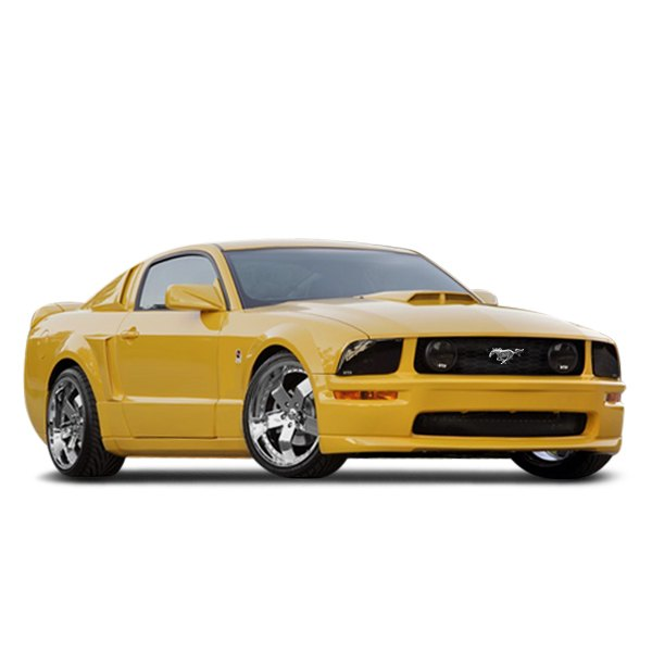 2005 Ford Gt Interior: Ford Mustang GT 2005-2009 Custom Style Body Kit