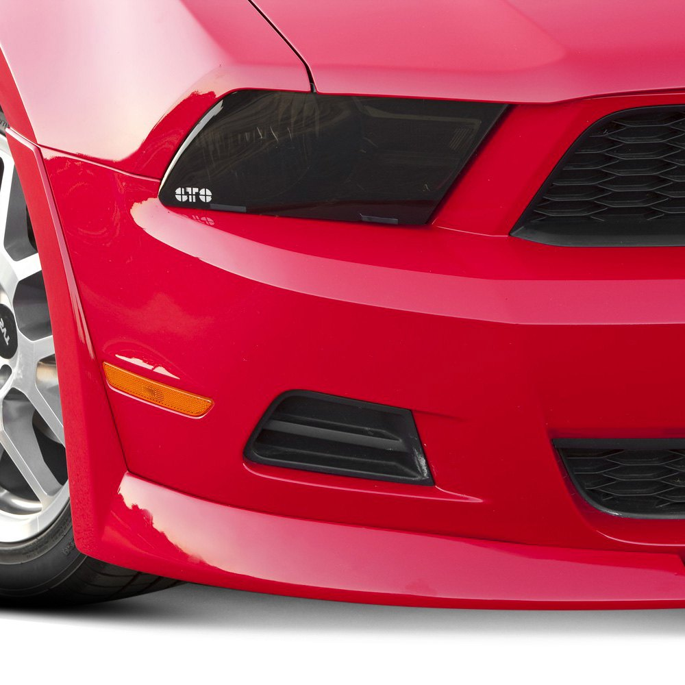 xenon ford mustang gt 2010 2011 custom style front air. Black Bedroom Furniture Sets. Home Design Ideas