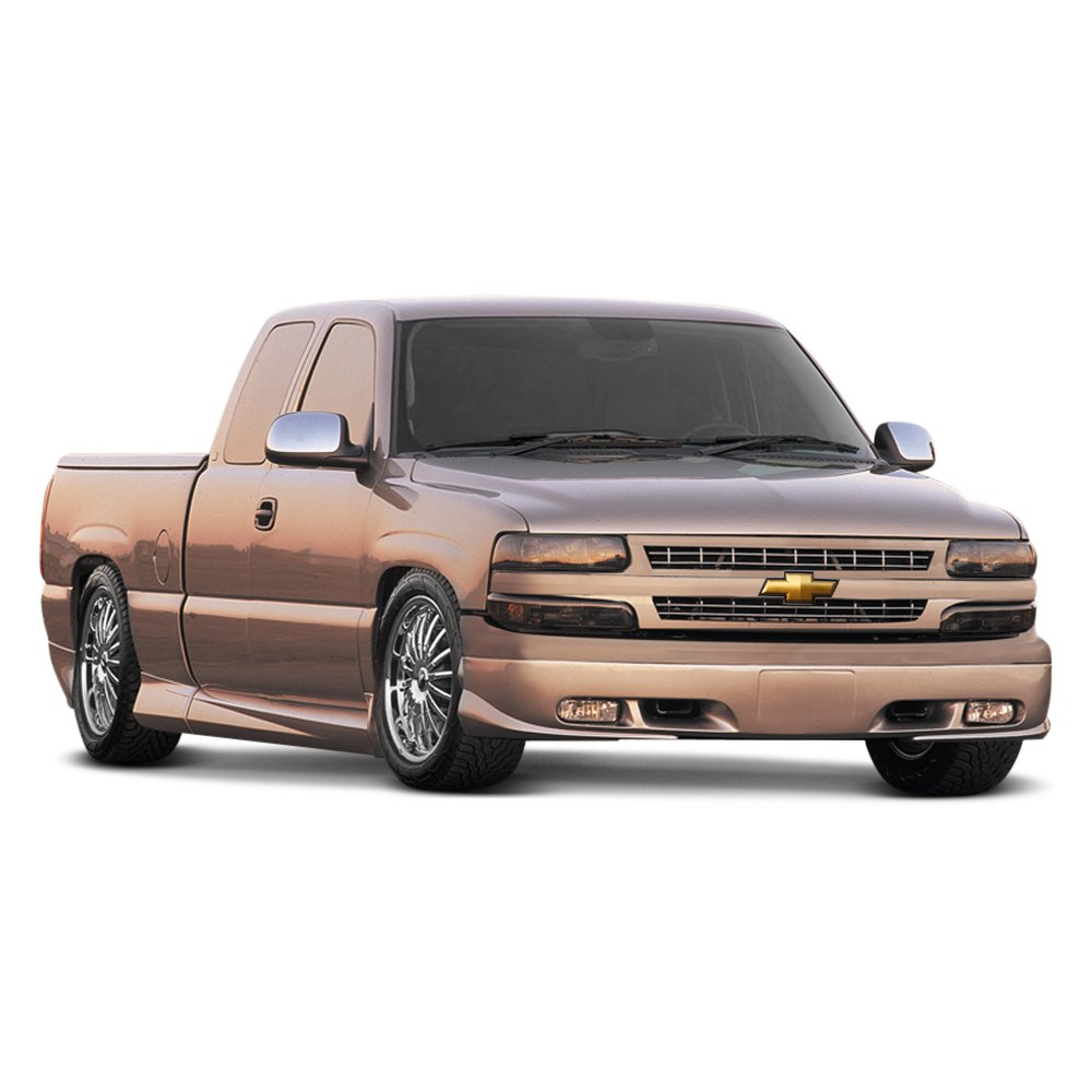 xenon chevy silverado extended cab fleetside 1999 2000 custom style body kit. Black Bedroom Furniture Sets. Home Design Ideas