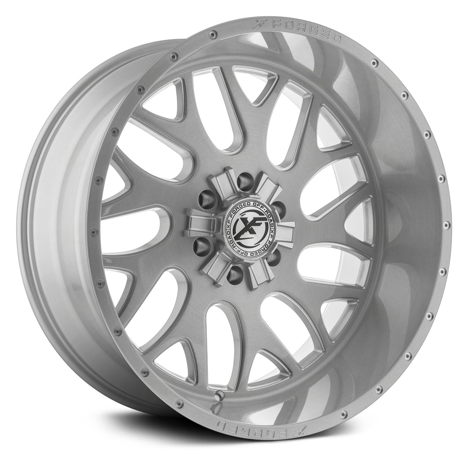Xf Off Road Xfx 301 Wheels Milled Brushed Rims