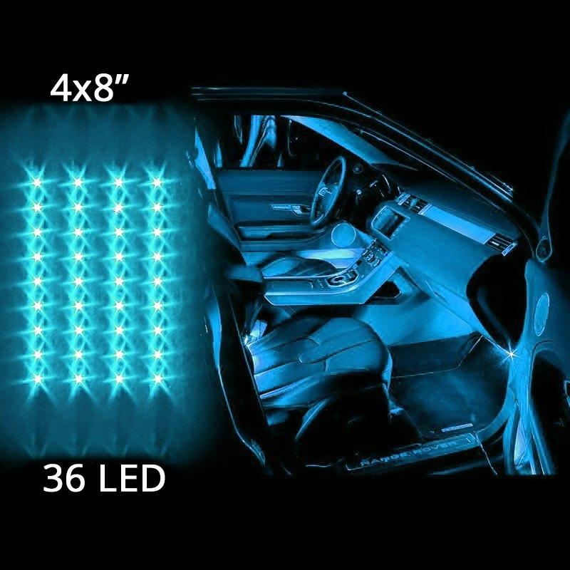 xkglow xk041004 ab 12 interior light blue led accent kit. Black Bedroom Furniture Sets. Home Design Ideas