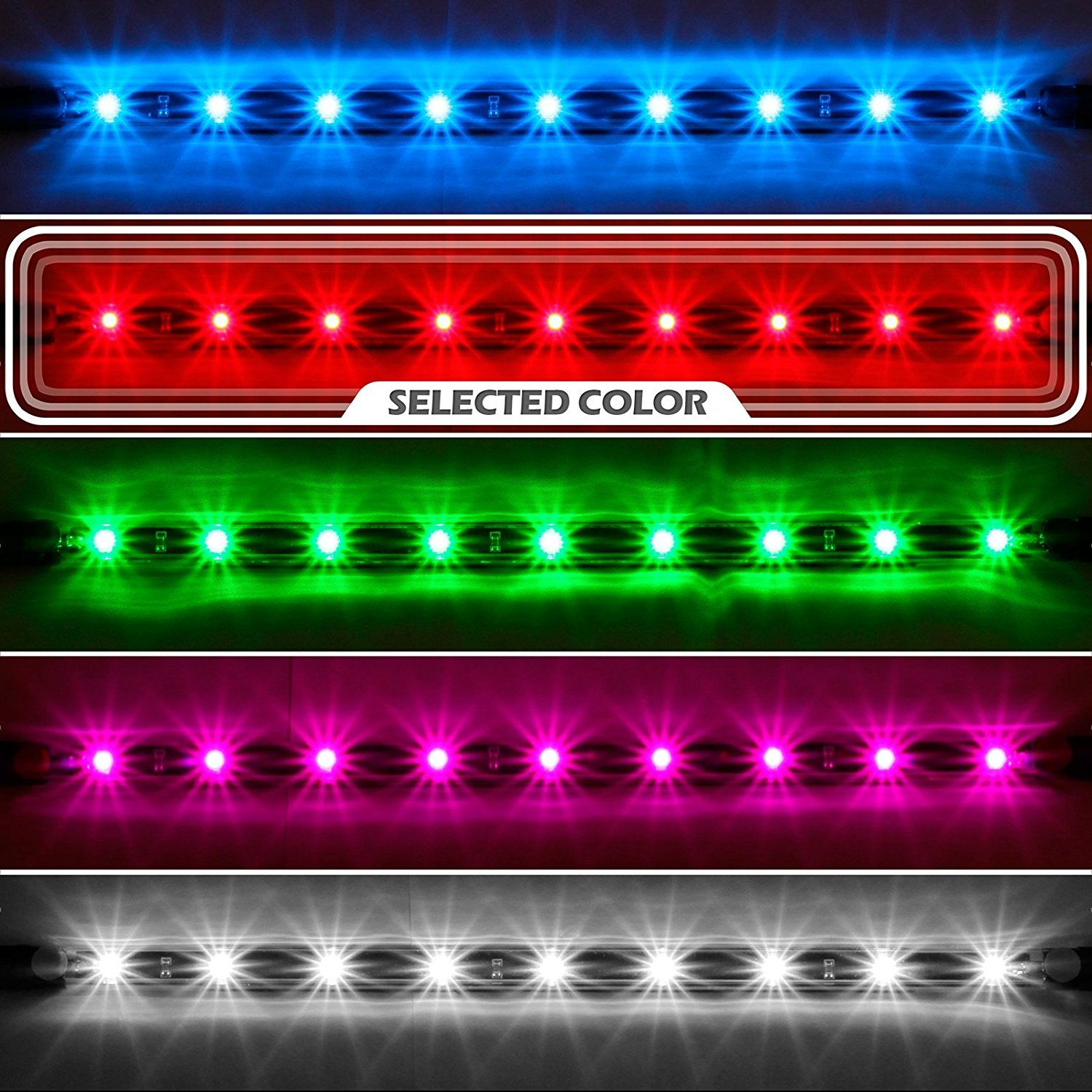 XKGlow  Single Color Underbody And Interior LED Light Kit