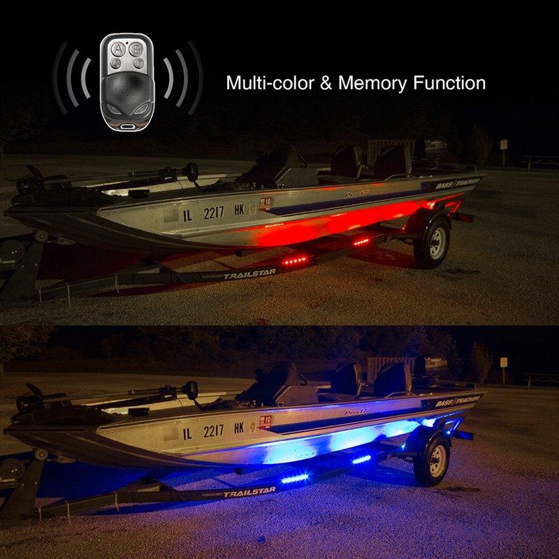 Xkglow 174 Boat Trailer Docking Multi Color Led Light Kit