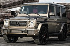 XO® - MILAN on Mercedes G Class