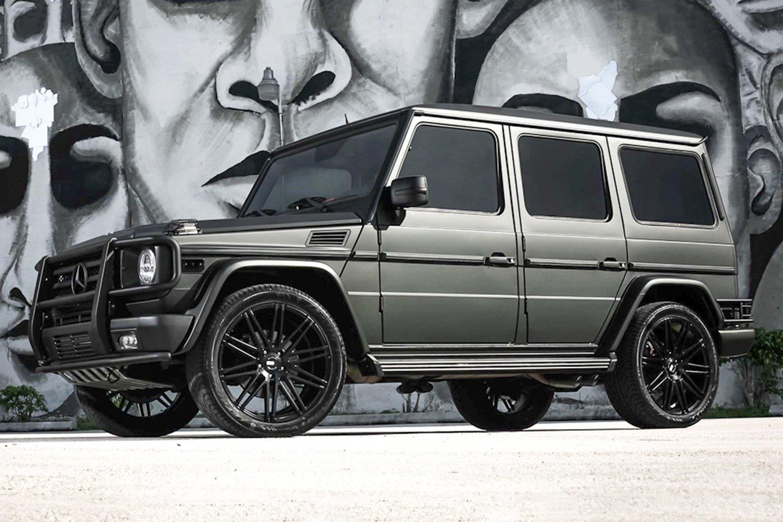 Xo milan wheels matte black rims for Black mercedes benz g class