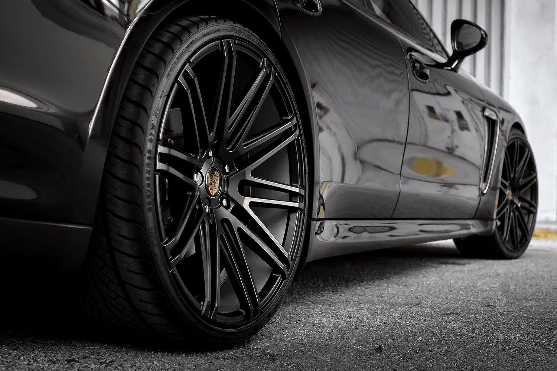 XO® MILAN Wheels - Matte Black Rims