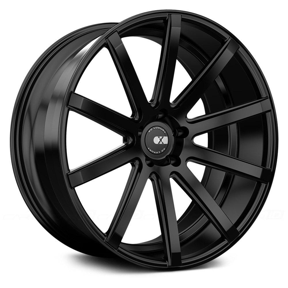 Xo 174 Tokyo Wheels Matte Black Rims