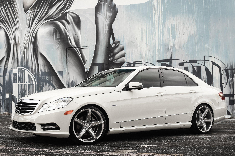 Xo st thomas wheels gloss silver with chrome face rims for Chrome mercedes benz