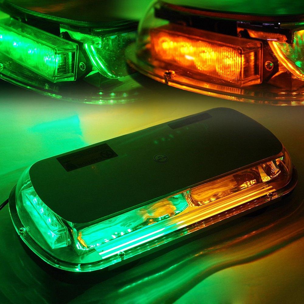 Xprite yl135c yg 17 44 led greenamber magnet mount light bar xprite 17 44 led greenamber magnet mount light bar aloadofball Choice Image