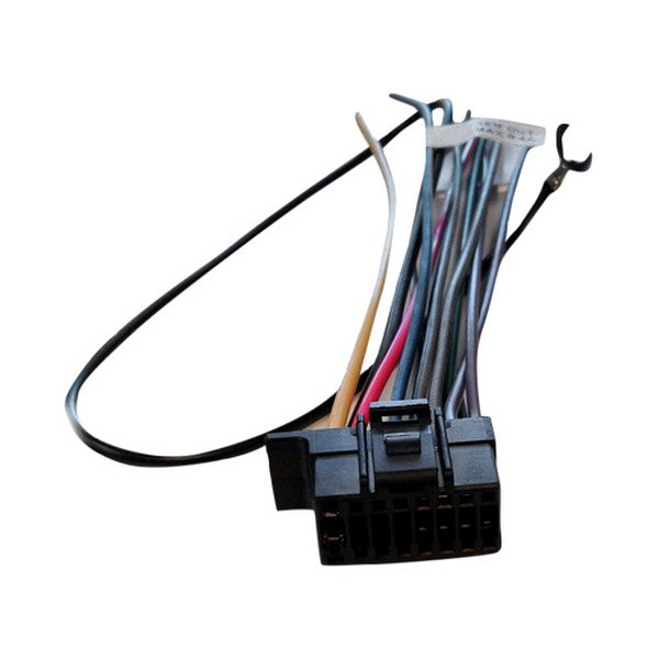 xscorpion 174 sy1613 wiring harness with aftermarket stereo plugs for sony