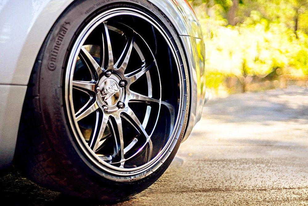 Ford Focus Rims >> XXR® 527D Wheels - Chromium Black Rims - 527D896650-H
