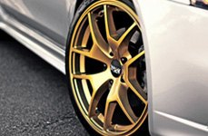 XXR 518 Gold on Car
