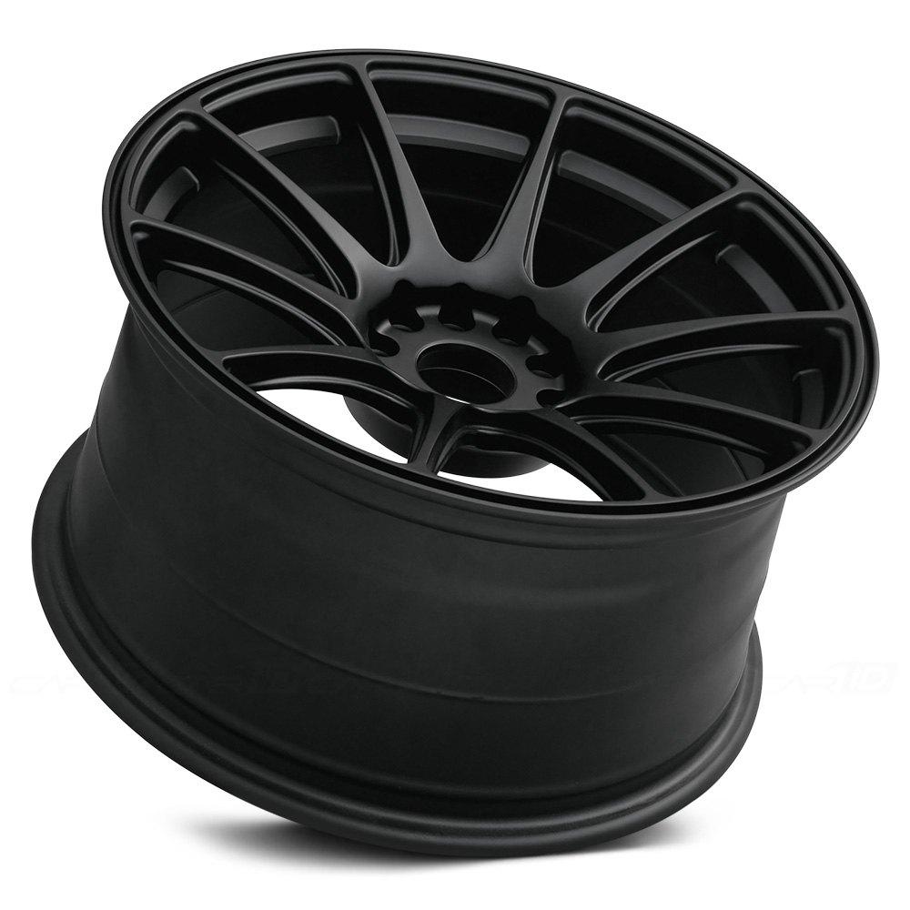 Xxr 174 527 Wheels Flat Black Rims