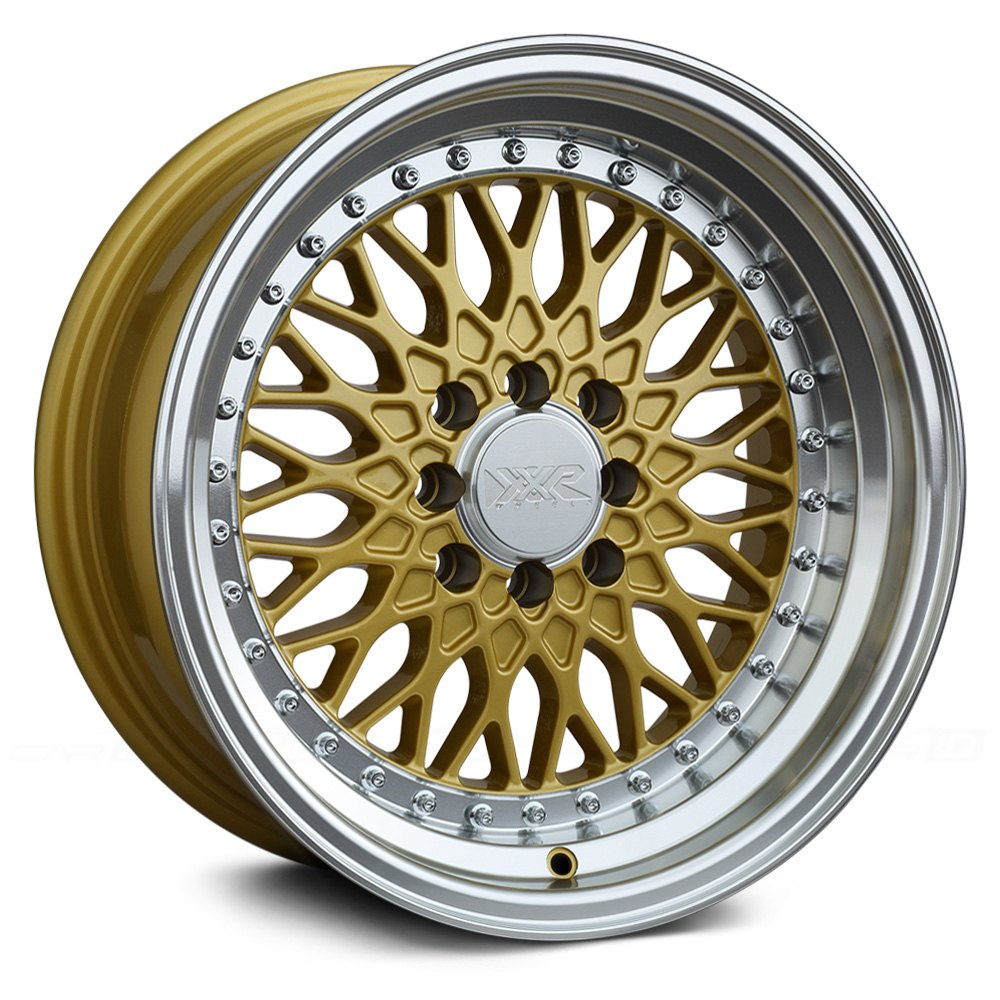XXR® - 536 Gold with Machined Lip