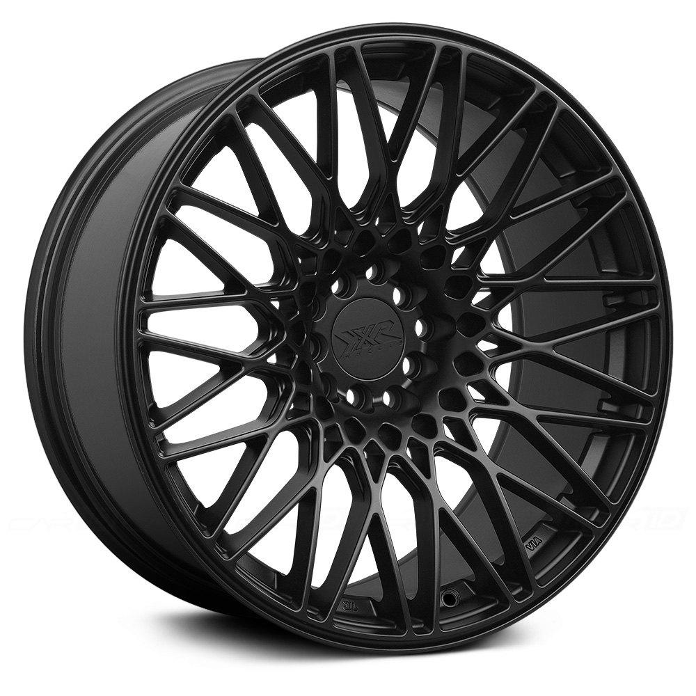 Xxr 174 553 Wheels Flat Black Rims 553895422 H