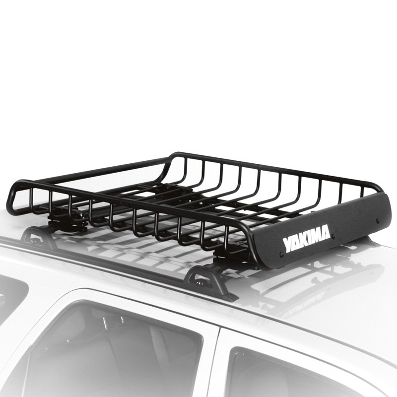 2016 Rav4 Cargo Dimensions >> Yakima® - Honda CR-V 2016 LoadWarrior Roof Cargo Basket