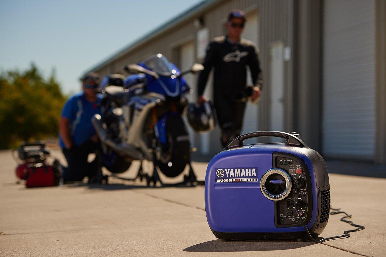 Yamaha ef2000isv2 2000w inverter generator for Yamaha 2000 generator run time