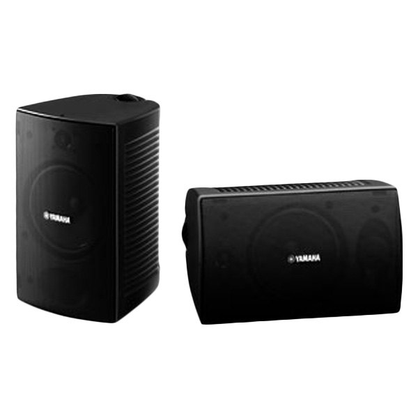Yamaha NS AW294BL Indoor Outdoor 2 Way Speakers Black
