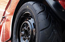 YOKOHAMA® - Advan A-048 Tires on Car
