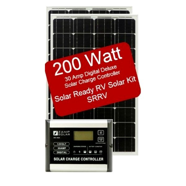 Zamp Solar 174 Zs 200 30a Srrv 200 Watts Solar Rv Ready Kit