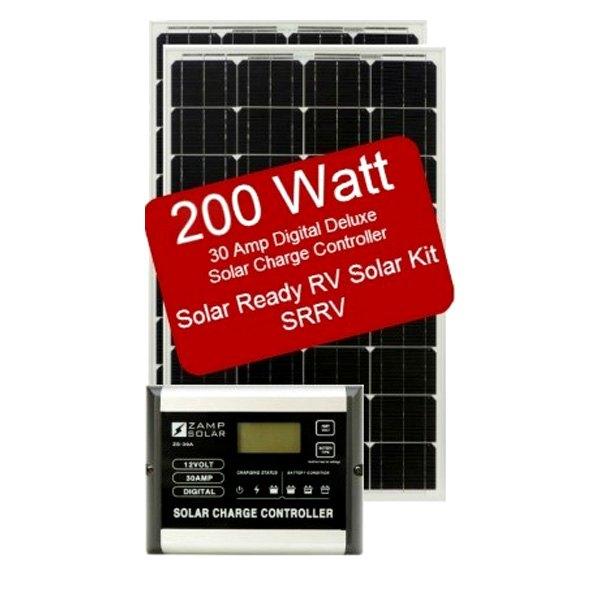 Zamp Solar 174 Zs 200 30a Srrv 200 Watts Solar Rv Ready Kit