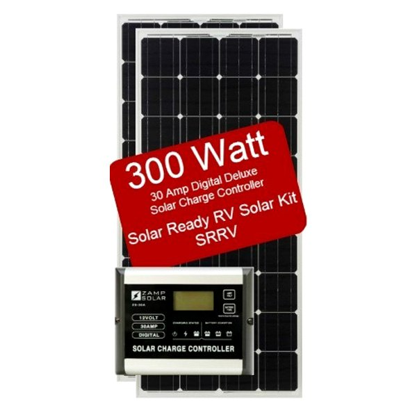 Zamp Solar 174 Zs 300 30a Srrv 300 Watts Solar Rv Ready Kit