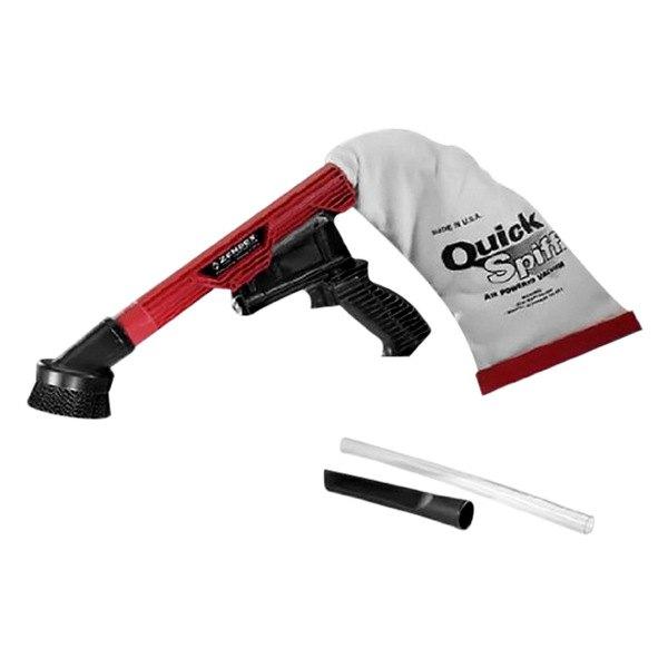 Air Powered Vacuum : Zendex qs quick spiff™ air powered vacuum