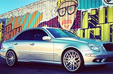 ZENETTI® - TORINO Brushed with Chrome Lip on Mercedes E Class