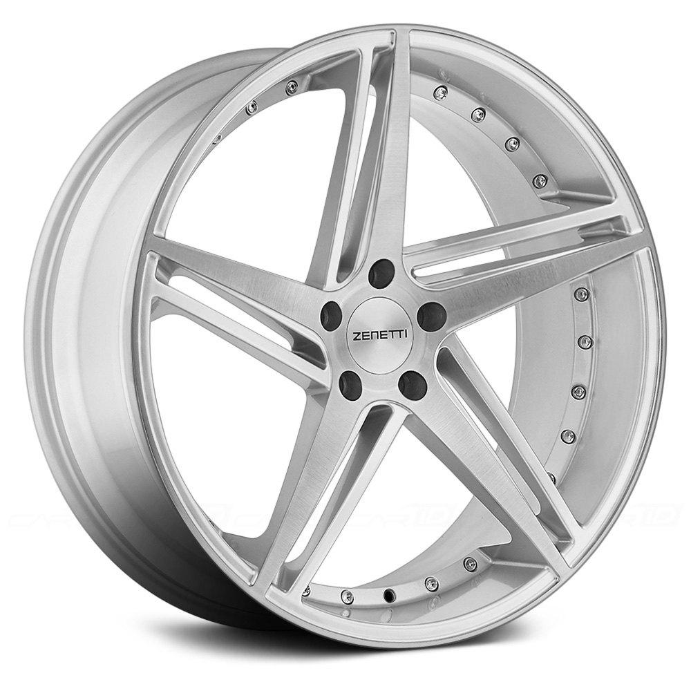 Zenetti 174 Laguna Wheels Silver Brushed Rims