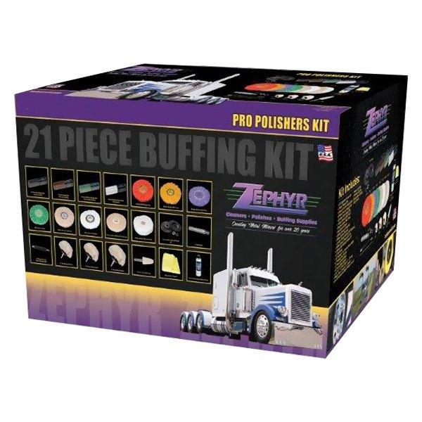 Zephyr Buff Kit 21 Professional Polisher S Starter Kit
