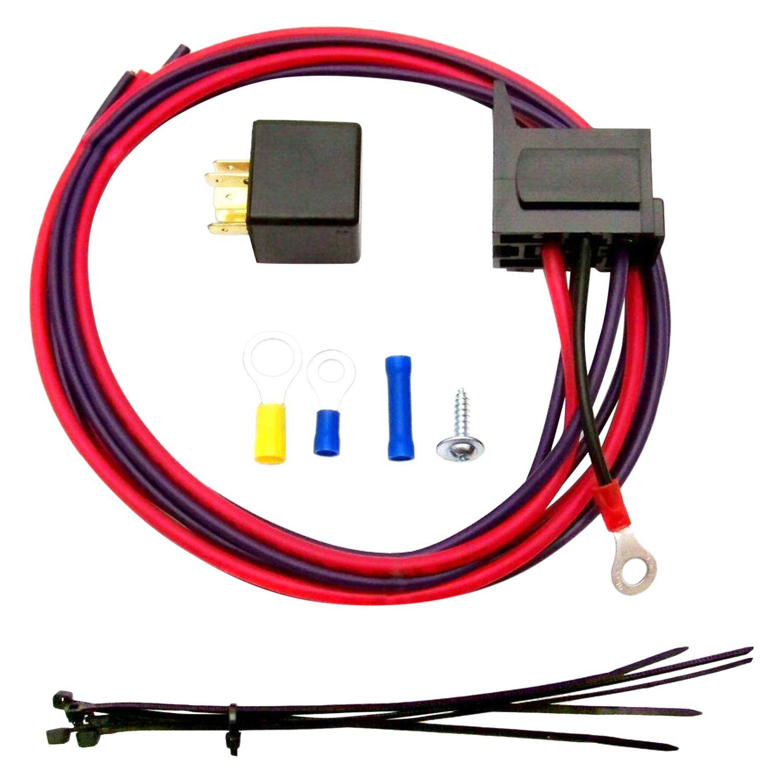 Zirgo® - Electric Fan Relay Kit with Plug-n-Play Harness