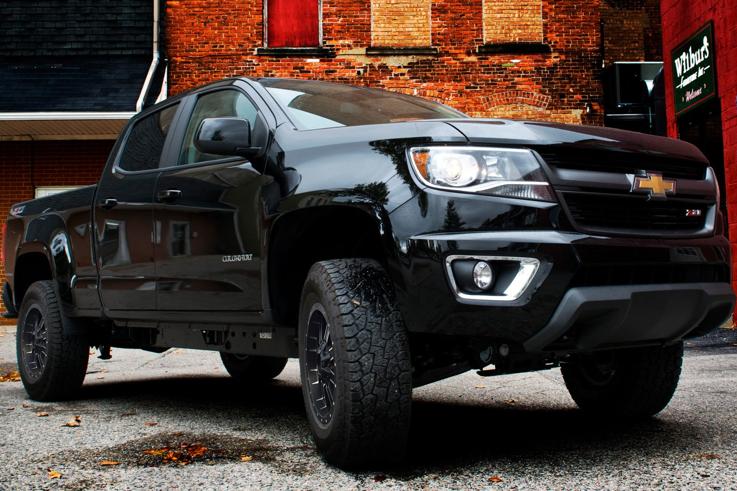 zone offroad zonc1257 chevy colorado 2016 combo lift kit. Black Bedroom Furniture Sets. Home Design Ideas