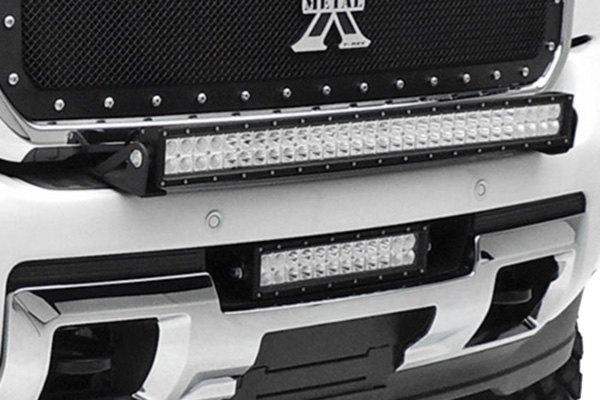 Zroadz Bumper Mounted 30 180w Dual Row Combo Beam Led Light Bar