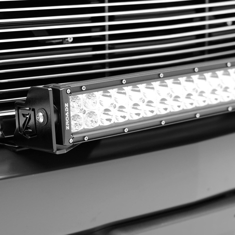 Zroadz 174 Chevy Silverado 2016 Bumper Mounted Led Light Bar