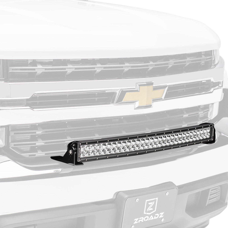 Zroadz Top Bumper Mounted 140w Curved Dual Row Combo Beam Led Light Bar