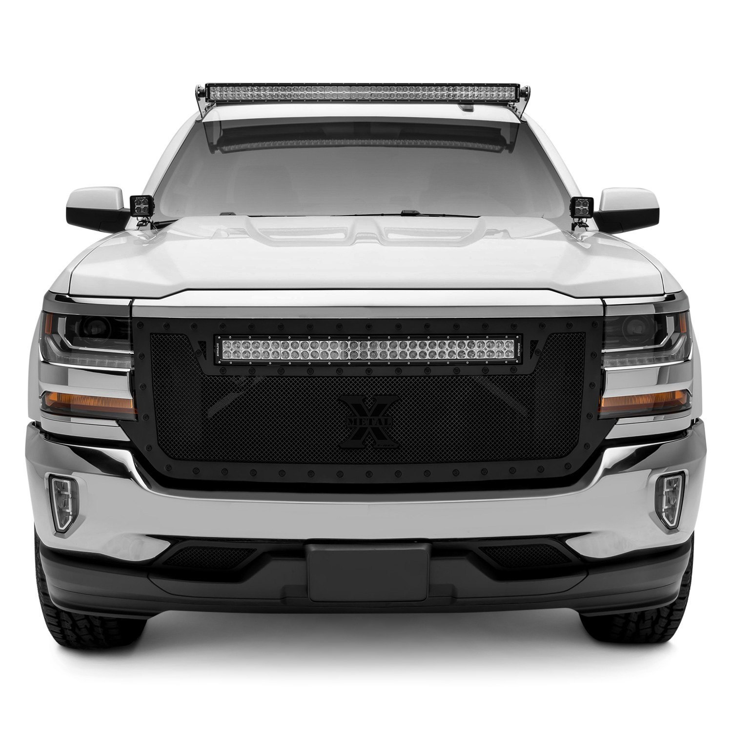 zroadz gmc sierra 2015 2017 roof mounts for 50 curved. Black Bedroom Furniture Sets. Home Design Ideas