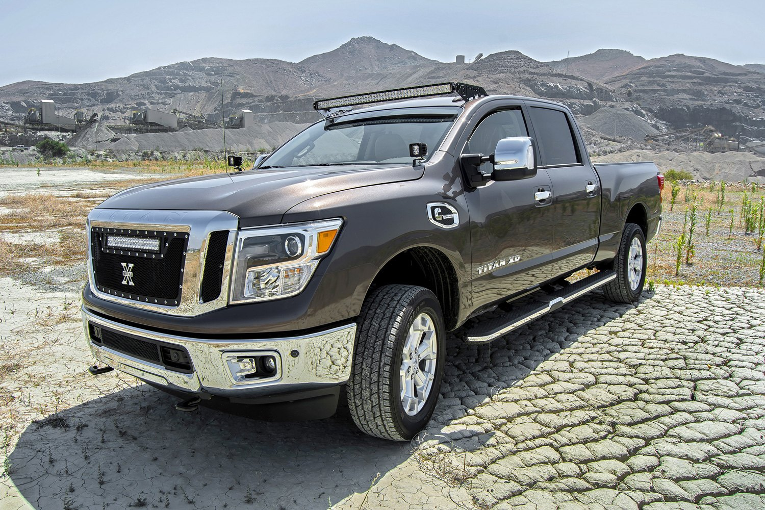 Zroadz nissan titan xd 2016 2017 roof mounts for 50 curved led roof mounts for 50 curved led light barzroadz aloadofball Image collections