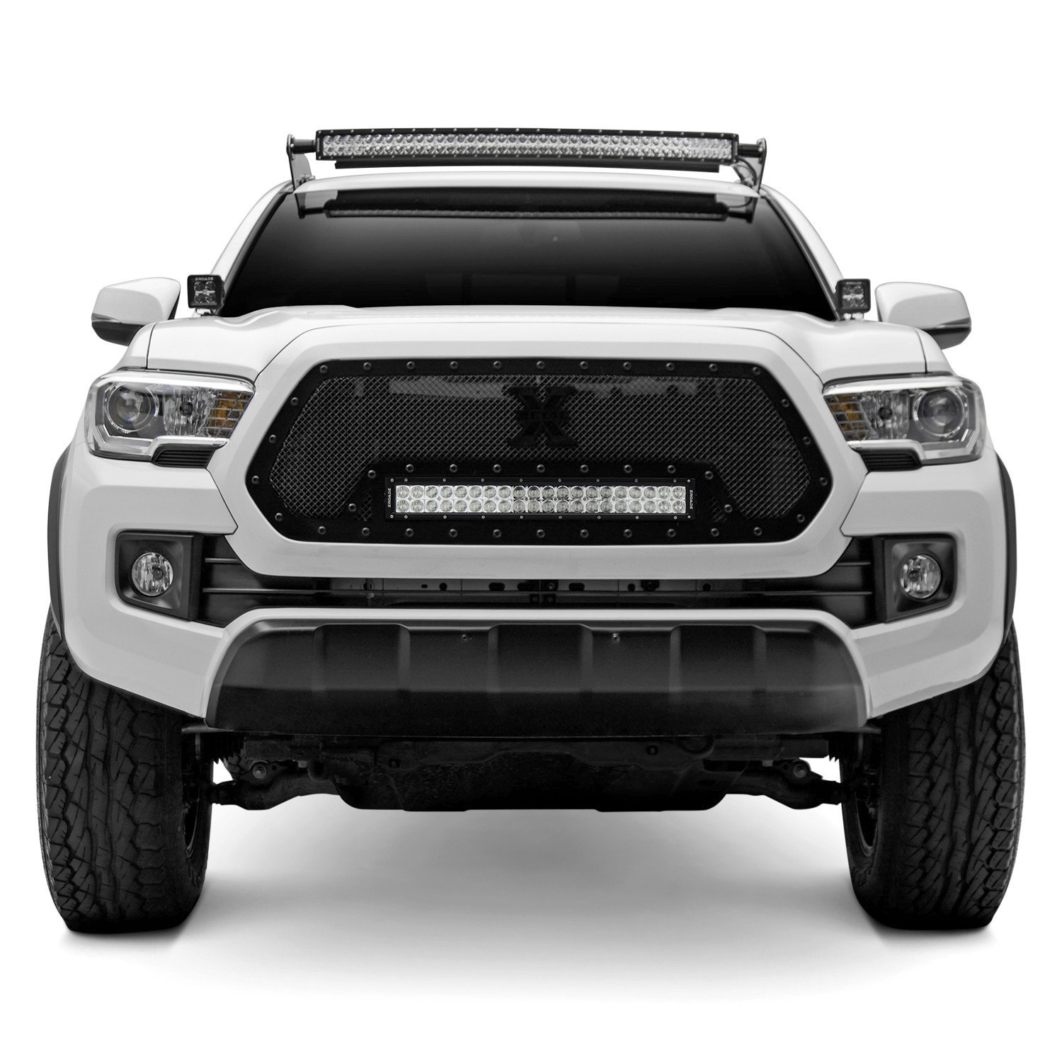 Zroadz toyota tacoma 2005 2017 roof mounts for 40 curved led roof mounts for 40 curved led light barzroadz mozeypictures Images